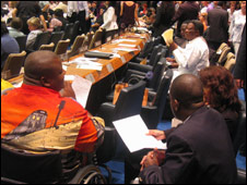 Adoption of Disability Treaty in 2006