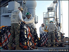 Marines on USS Essex