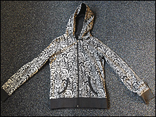 A jacket similar to the one the woman was wearing