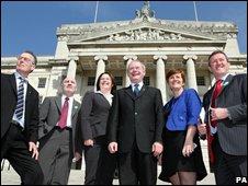 Sinn Fein frontbench team
