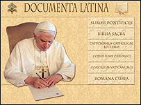 Sitio web del Vaticano en latín