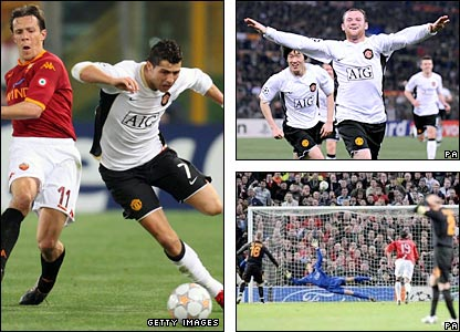manchester United won both legs of their tie with Roma
