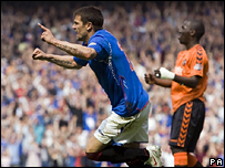 Nacho Novo opens the scoring