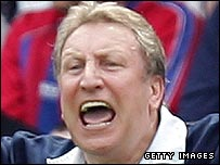 Crystal Palace manager Neil Warnock