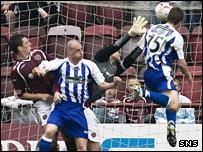 Grant Murray scores for Kilmarnock