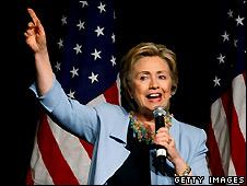 Hillary Clinton in New York - 10/5/2008