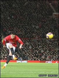 Ronaldo's brilliant free-kick against Portsmouth in January