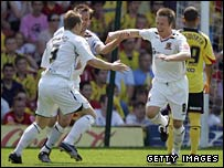 Nick Barmby opened the scoring for Hull