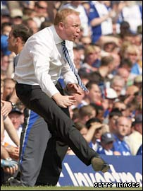 Blues boss Alex McLeish