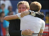 Roy Hodgson and Erik Nevland