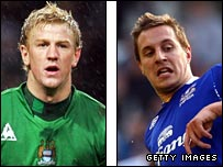 Joe Hart and Phil Jagielka have been outstanding for Man City & Everton