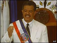 Leonel Fernández en agosto de 2004
