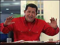 Hugo Chávez el 11 de mayo