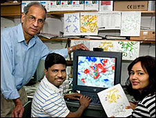 Research group from Brookhaven, Subramanyam Swaminathan, Desigan Kumaran and Richa Rawat.
