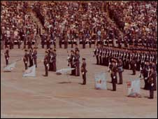 The Queen's Colour, RAF during the  Queen's 1977 Silver Jubilee