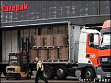 Farepak depot in Swindon