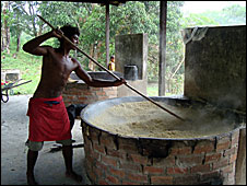 Flour-making
