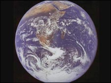 Earth from space, Nasa
