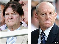 John Madejski and Steve Coppell
