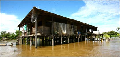 Casa en el Amazonas