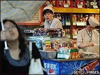 Tienda de comestibles en Shnghai