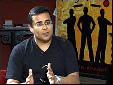 Writer Chetan Bhagat