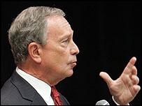 Michael Bloomberg, New York Mayor c/o AP