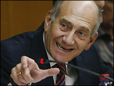 Ehud Olmert in Jerusalem - 12/5/2008