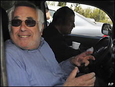 Moshe Talansky in Jerusalem - 8/5/2008