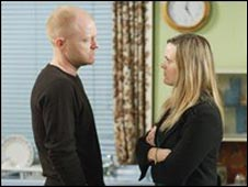 Tanya and Max Branning, played by Jake Wood and Jo Joyner