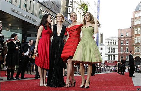 Kristin Davis, Cynthia Nixon, Kim Cattrall and Sarah Jessica Parker