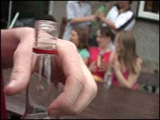Underage drinkers