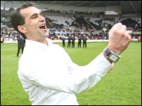 Roberto Martinez has enjoyed his first full season in charge