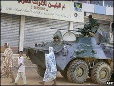 Tank in Omdurman