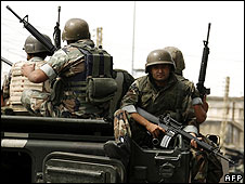 Lebanese army in the northern city of Tripoli