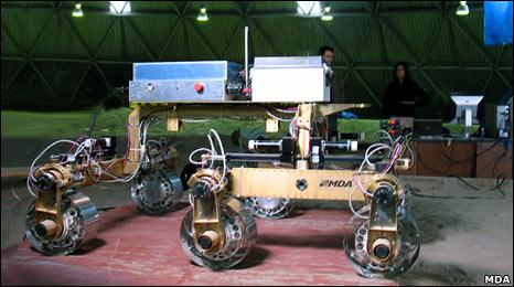 ExoMars prototype (MDA)