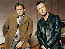 Philip Glenister and John Simm