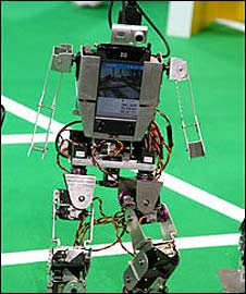 Competitor at Robocup