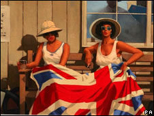 The British are Coming by Jack Vettriano (Cathal McNaughton/PA Wire)