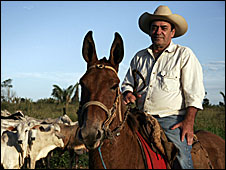 Carlito, a cattle rancher