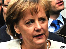 Angela Merkel 1 May 2008