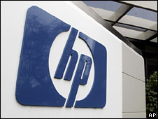 Hewlett-Packard logo