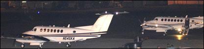 Aviones utilizados en el proceso de extradici�n