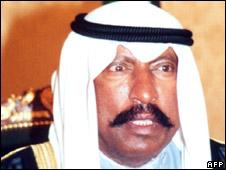 Sheikh Saad al-Abdullah al-Sabah (file photo)