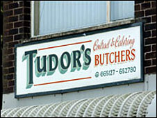 John Tudor & Son sign