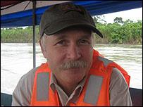 Kelly Swing, fundador de la Estación de Biodiversidad Tiputini (EBT
