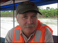 Kelly Swing, fundador de la Estaci�n de Biodiversidad Tiputini (EBT