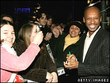 Andy Abraham meeting fans