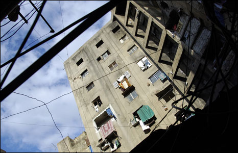 The old Gaza hospital (Photo by Phil Coomes)
