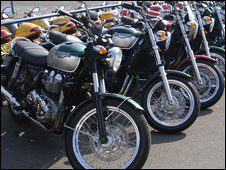 Motorcycles (library picture)